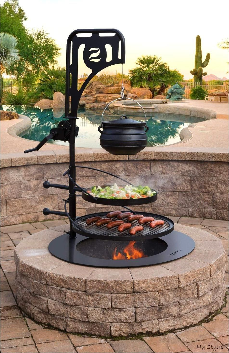 33 Stunning Backyard Fire Pit Ideas To Brighten Your It Seems Everyone And Their Neighbor Are Inves Outdoor