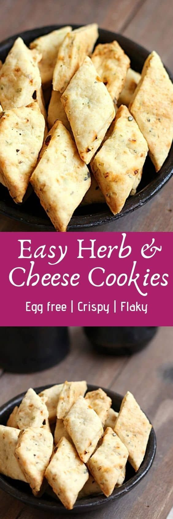 Herb and cheese cookies recipe with step by step photos. Sharing a very easy to make crispy, crunchy and cheesy cookies flavored with dried herbs. Recipe via and cheese cookies recipe with step by step photos. Sharing a very easy to make crispy, crunchy and cheesy cookies flavored with dried herbs. Recipe via