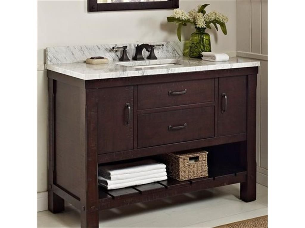 48 Inch Bathroom Vanity Sets Neubertweb Home Design Pinterest Set Vanities And