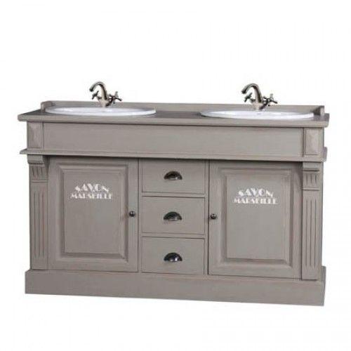 Waschtisch, Badwaschtisch im Landhausstil, in vier Farben - Badmöbel - Landhaus Style - Möbel