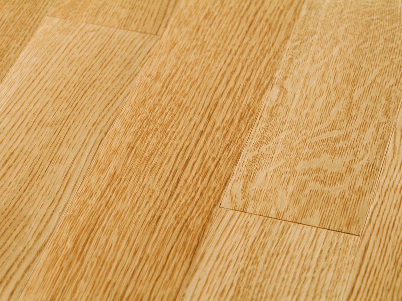 Quarter sawn oak natural lacquer semigloss quarter oak Unstained hardwood floors
