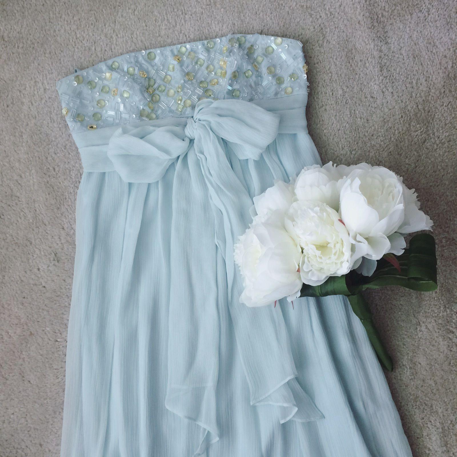Awesome bcbg maxazria formal dress size foam green homecoming