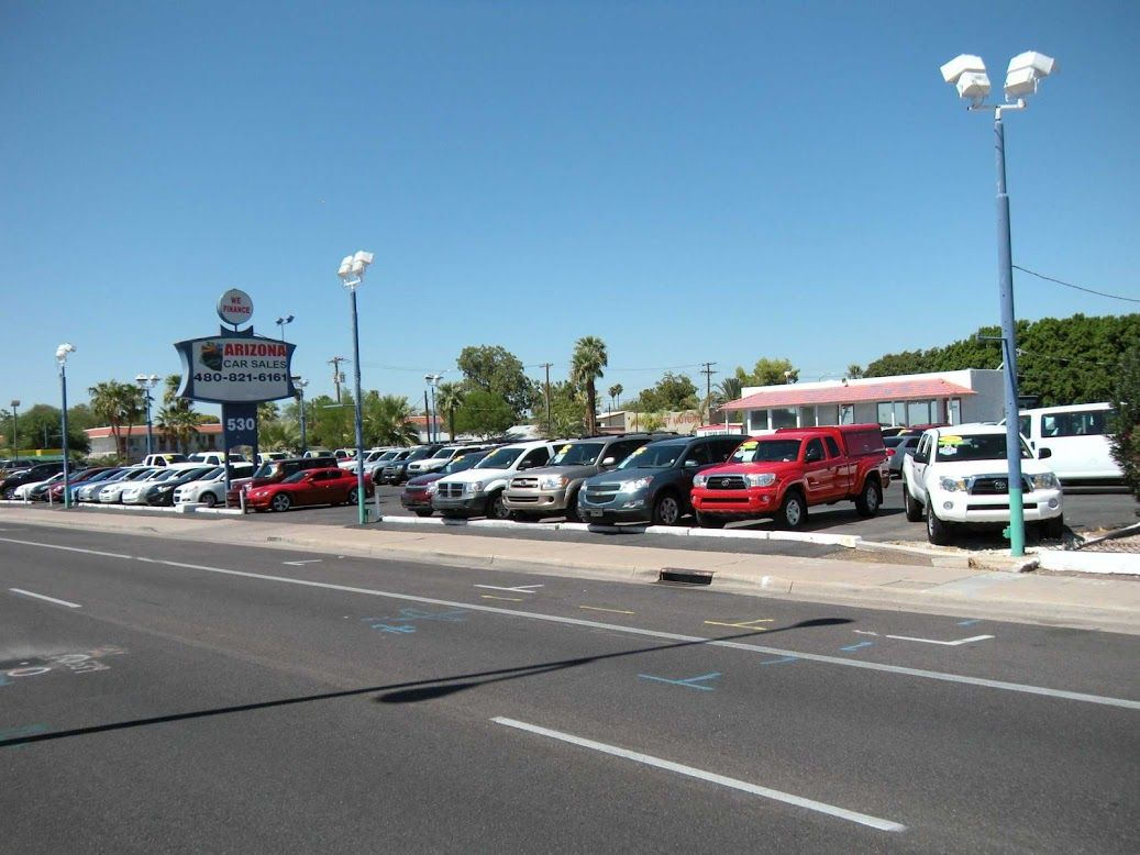 Here Is A View Of Our Dealership From The Street