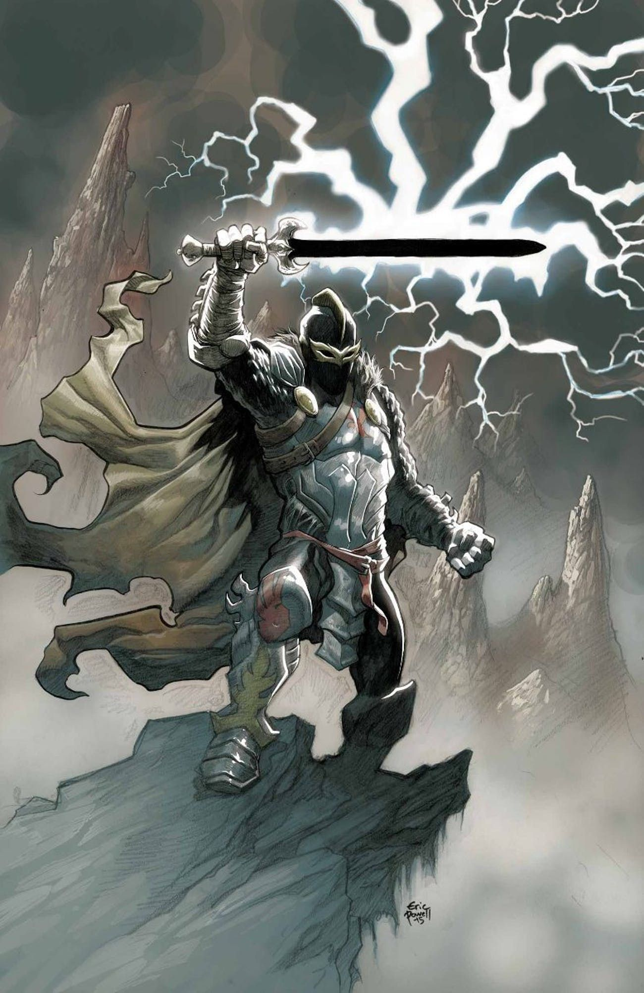 Image result for Marvel Black knight Art Study | Marvel comics art, Marvel, Knight  art