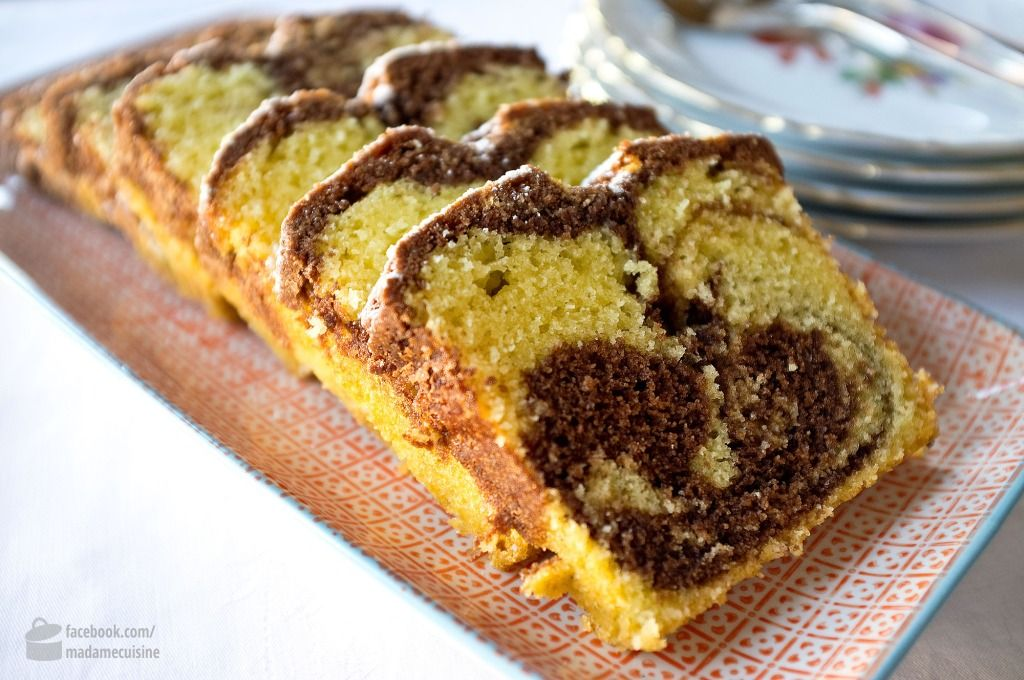 Rezept Fur Saftigen Marmorkuchen In 2018 Backen Pinterest
