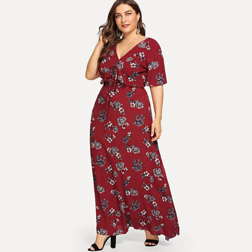 25 Boho Dresses From Walmart With Major Summer Weekend Vibes Maxi Dresses Casual Evening Dresses Plus Size Maxi Dress [ 1000 x 1000 Pixel ]