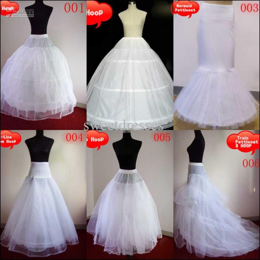 Bridal Gown Undergarments Popular Wedding Dresses Girls Petticoat Bridal Gowns