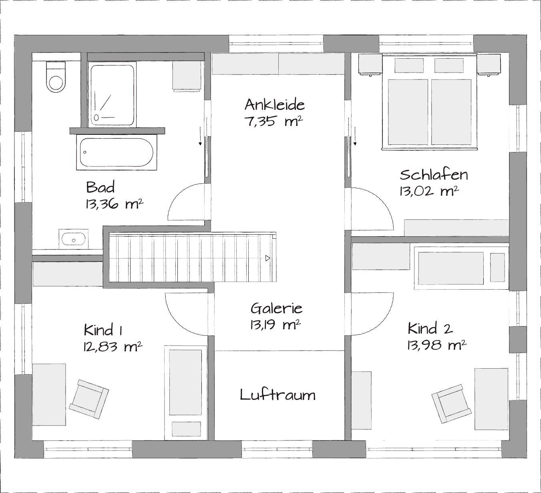 Lanos_1   Moderne Satteldachhäuser