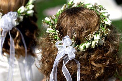 wreaths for flower girls