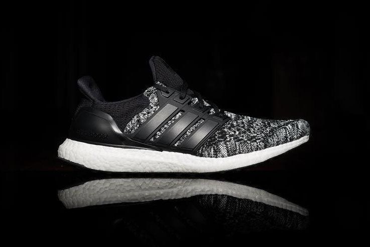 22696455a4fcc Reigning Champ x adidas UltraBOOST Preview black white primeknit