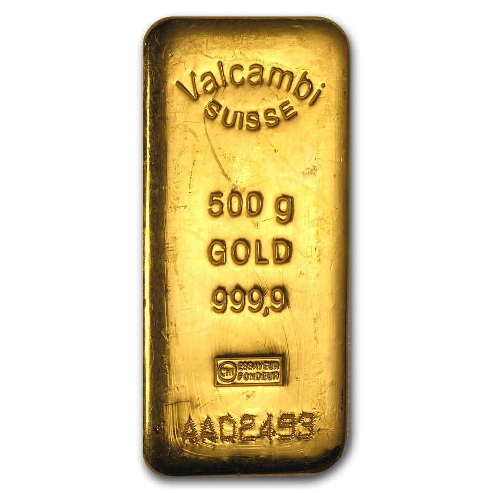 500 Gram Gold Bar Valcambi Vintage Hand Poured Sku79242 Gold Bars For Sale Gold Bar Gold Money