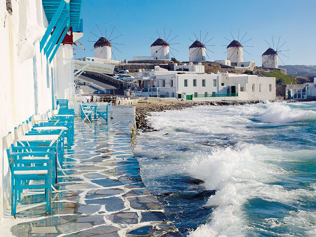 Mykonos Greece In High Resolution Hd Desktop Wallpaper: Screensavers And Wallpaper Greece