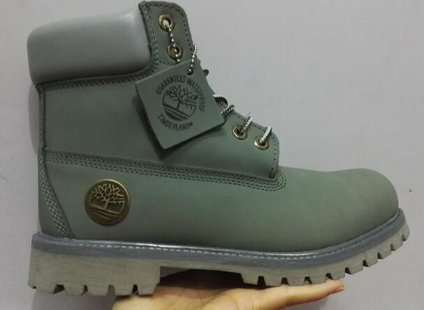 fbfa66a6fbc09 Olive Timberland Boots Mens 6 Inch with GreySize Men US10
