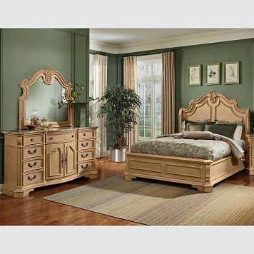 Delightful Monticello Almond Bedroom Collection   Value City Furniture