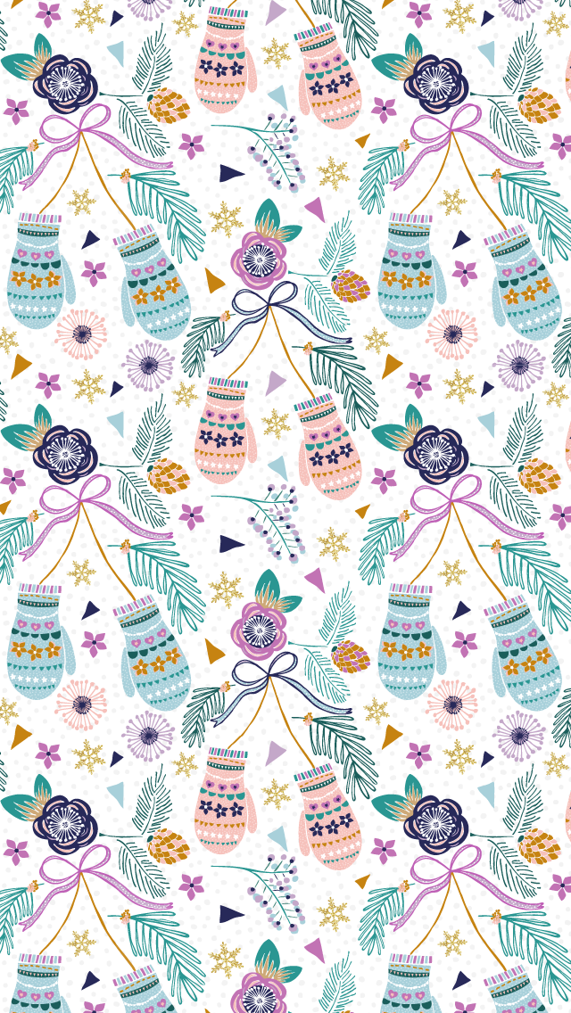 16 Cute Free Phone Backgrounds To Get You Into The Holiday