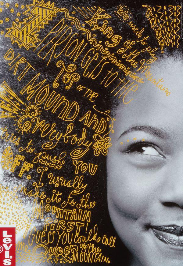 Levi's Affinity poster: by Jennifer Morla, 1998