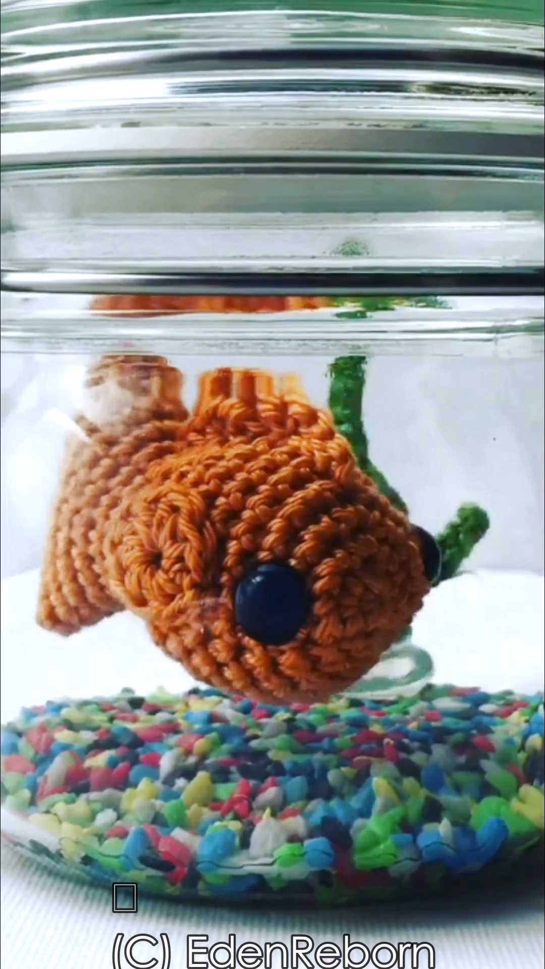 Photo of Crochet Fish in a Jar