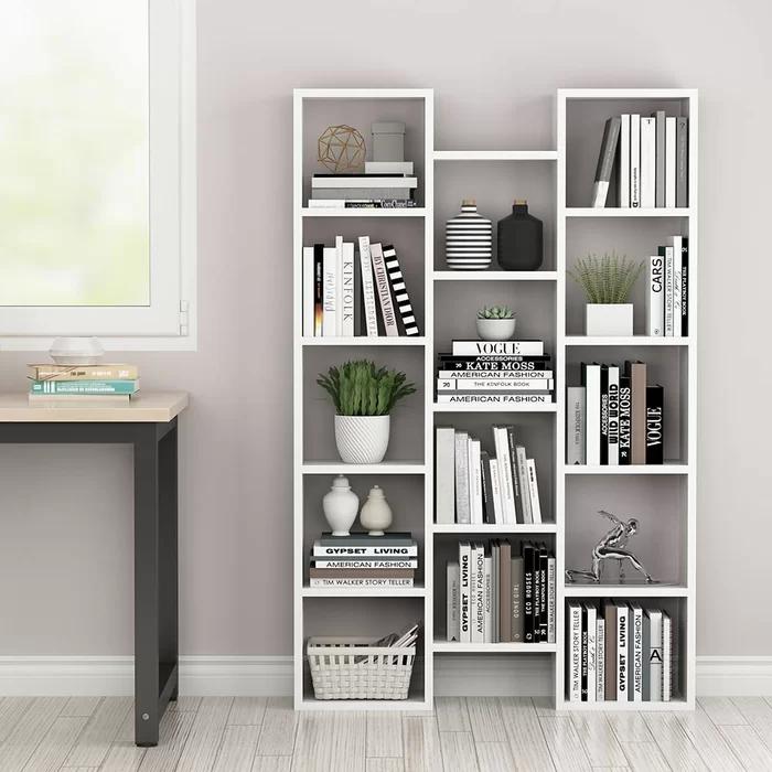 Bretton 59 05 H X 37 79 W Cube Bookcase In 2020 Bookcase Decor Cube Bookcase Bookshelf Design