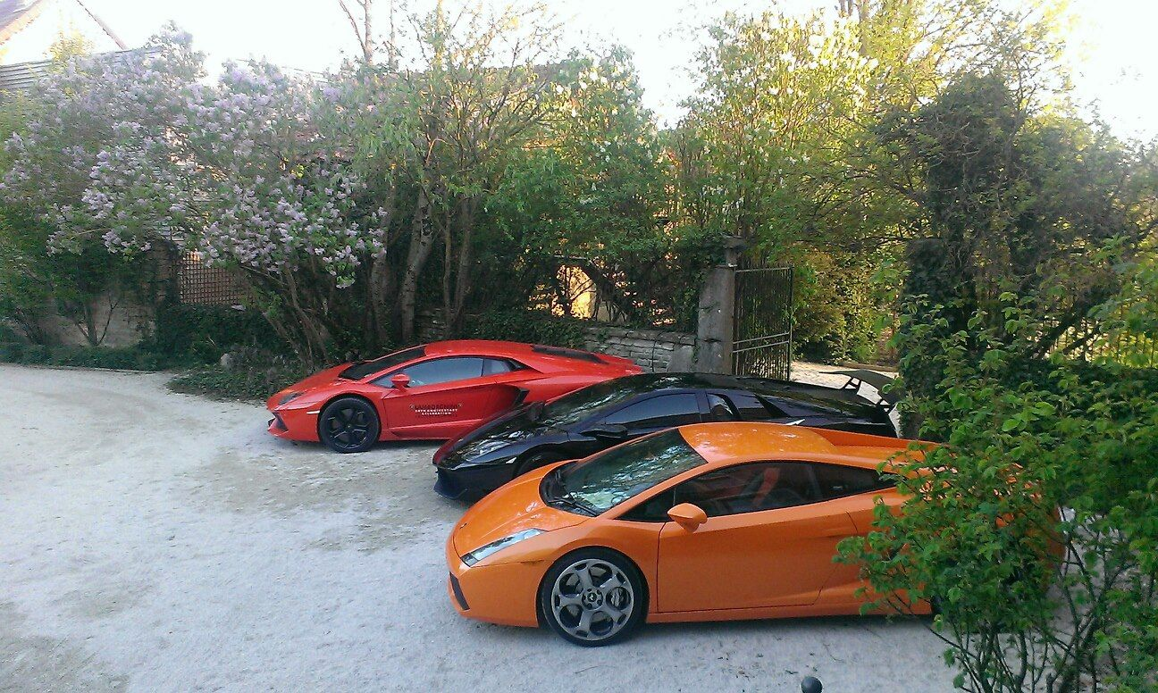 Supercars garage in France  http://www.supercarsmania.com/