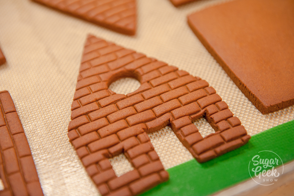 Gingerbread House #gingerbreadhousetemplate
