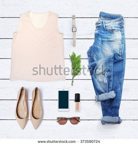 f2d4cfe50a64 collection collage of women's clothing collage of women's clothing outfit,  flat, lay, flatlay, top, view, topview, clothes, fashion, dress,  fashionblog, ...