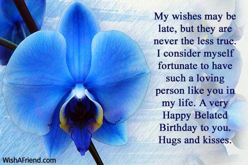 Happy Belated Birthday Wishes Spiritual ~ Belated birthday wishes holidays pinterest belated birthday