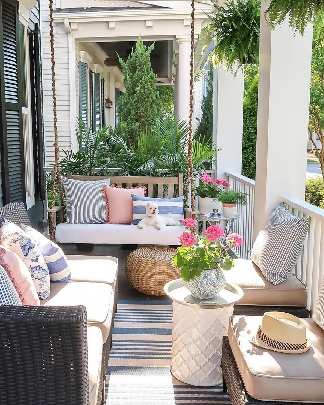 some porch inspiration on this friday hope you have a on inspiring trends front yard landscaping ideas minimal budget id=78603