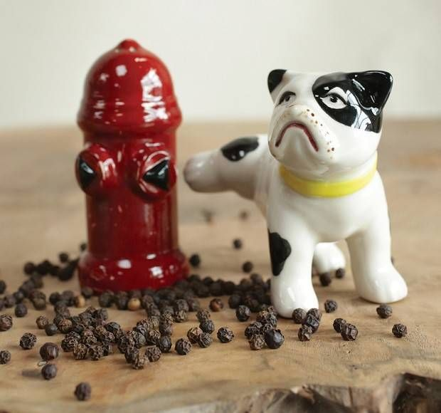 Dog And Fire Hydrant Salt And Pepper Shakers Novelty Salt And Pepper Shakers Stuffed Peppers Dog Fire Hydrant Pepper Shaker