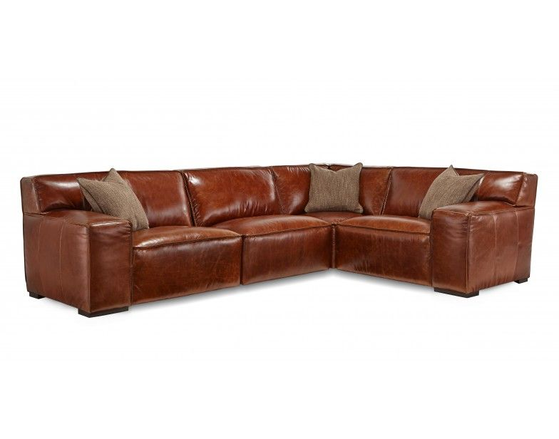 Bravo Chestnut 4pc Sectional Star Furniture Houston Furniture Mattress Furniture