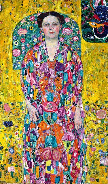 portrait of eugenia primavesi by gustav klimt  #klimt #art