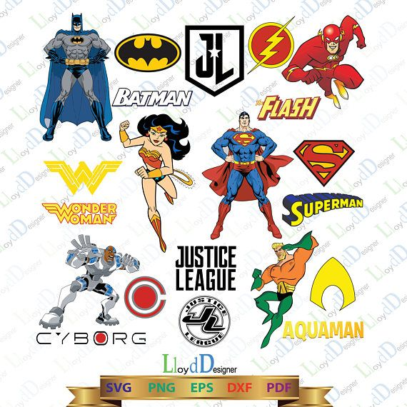 justice league svg justice league clipart justice league logo rh pinterest com justice league clipart free Justice League Characters