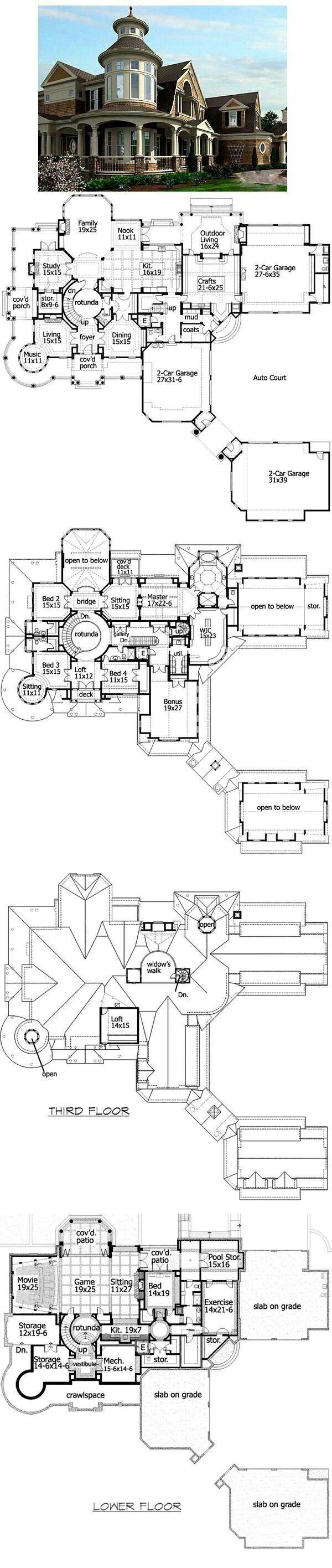 Victorian Dream Home House Floor Plans House Layouts House Blueprints