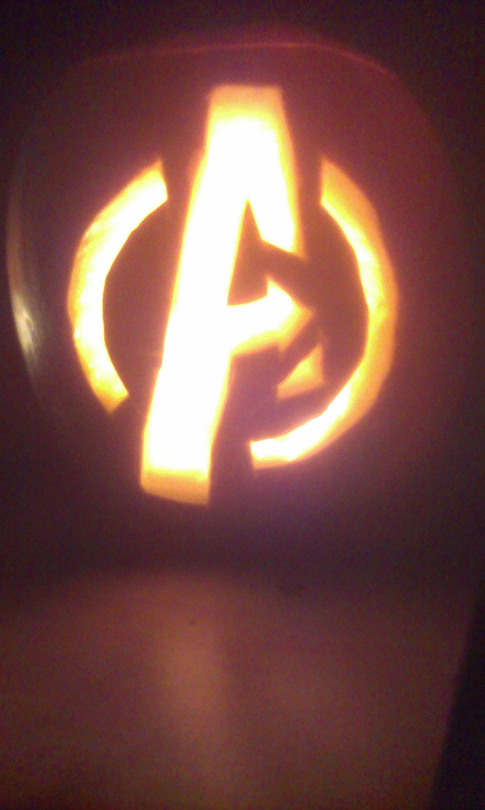 Avengers pumpkin creative nut pinterest