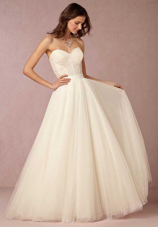 BHLDN Carina Corset & Ahsan Skirt Ball Gown Wedding Dress | Wedding ...