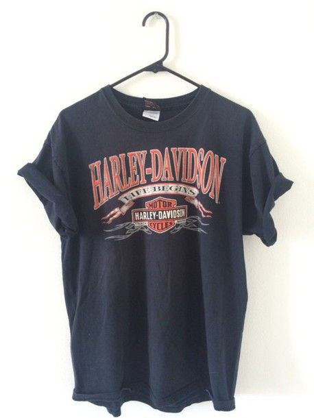 Vintage Harler Davidson T shirt RE23 in 2020 | Trendy