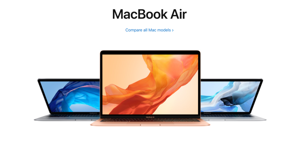 Apple Macbook Air 13 Z0UV0HN/A 2018 Edition Launched in