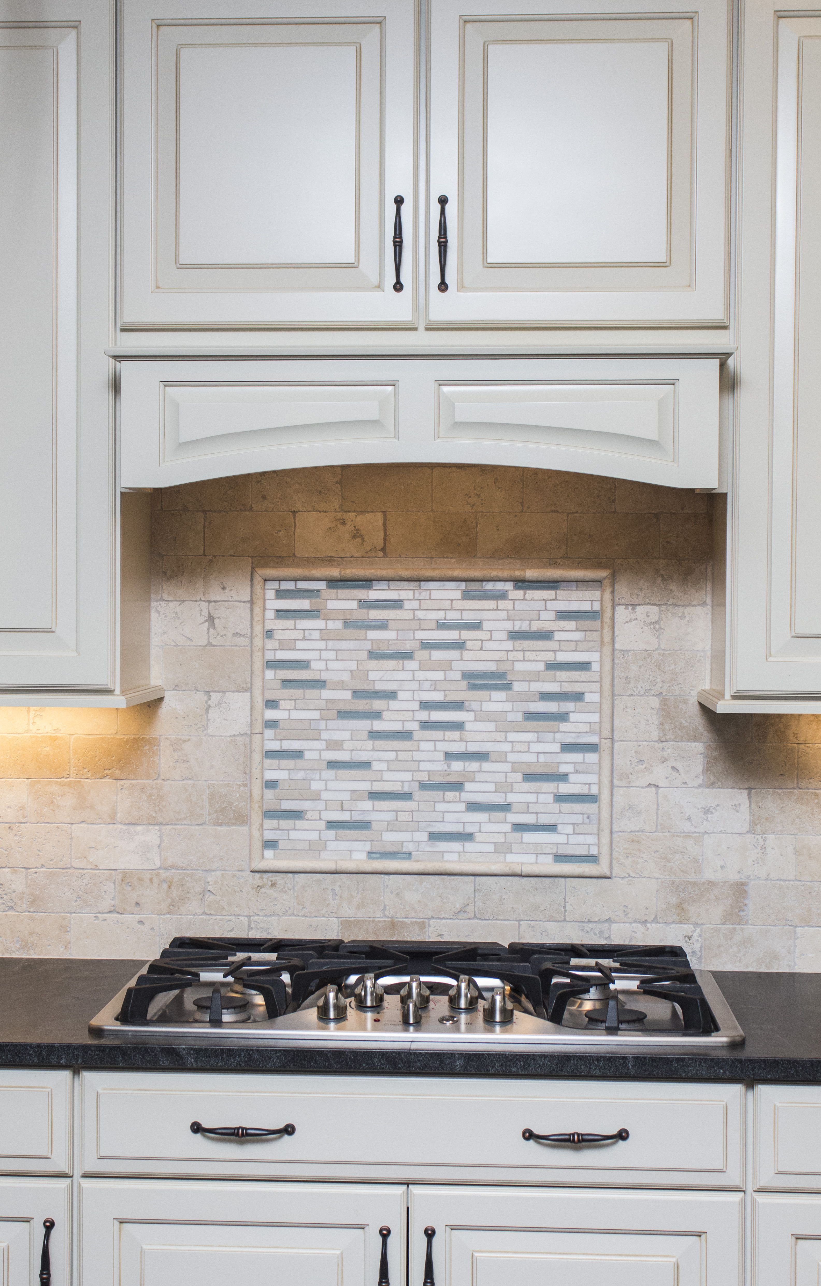 Black Granite · Gourmet · Gourmet New Build Kitchen Located In Dighton ,MA.  Featuring Cream Cabinetry, Grey Island