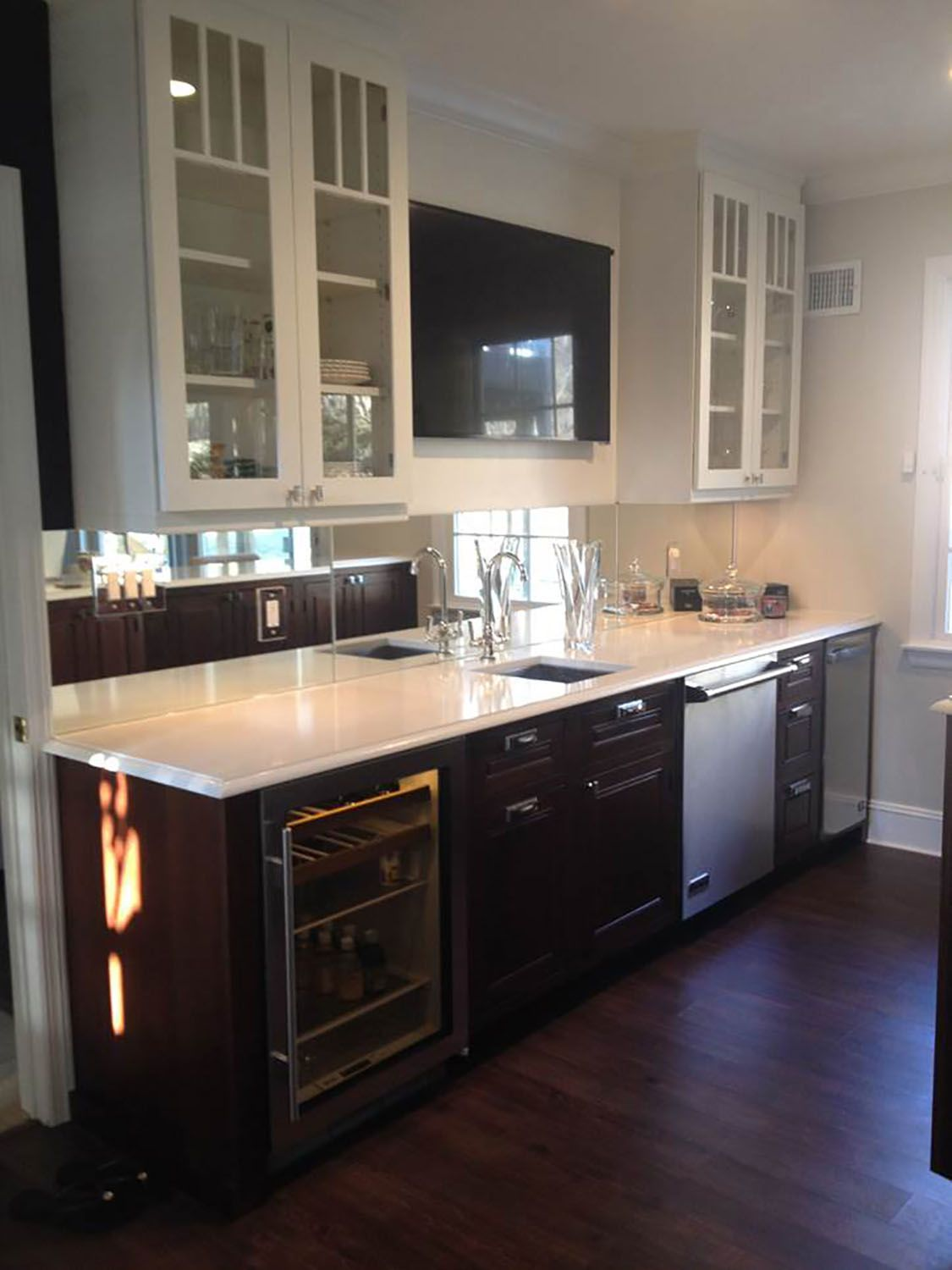 Briarcliff New York kitchen renovation features ...