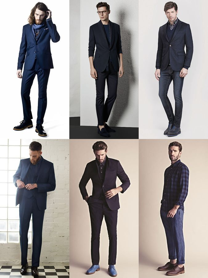 c00dd26f09e Men s All-Navy Outfit Inspiration Lookbook - Combining Clean