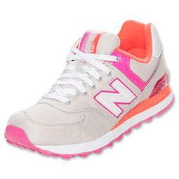 new balance 574 pink orange