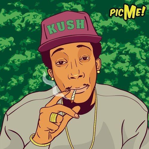 Art, Wiz Khalifa Smoking, Wiz Khalifa