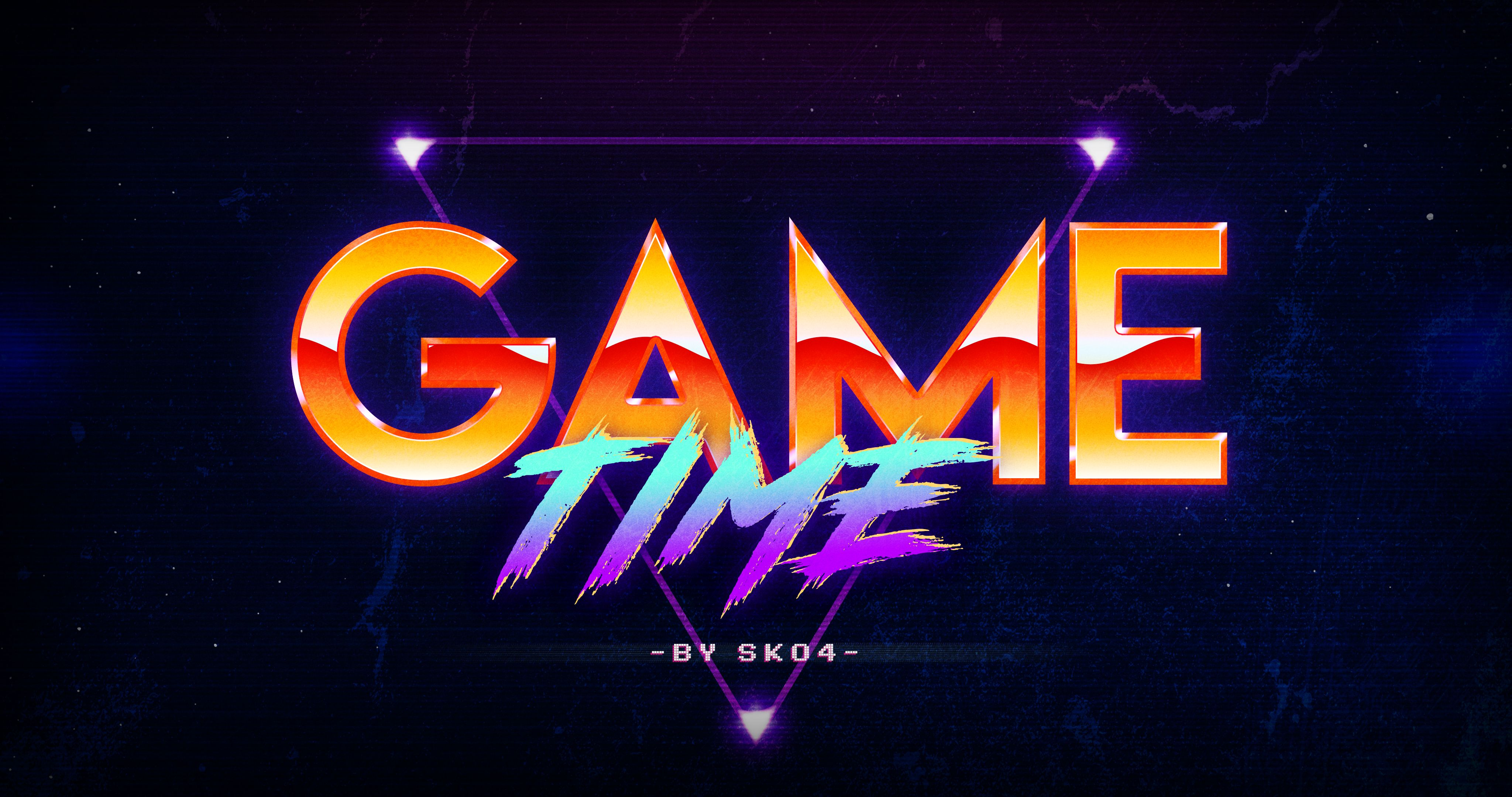80s Retro Text Effects by Sko4 | GraphicRiver #texteffect