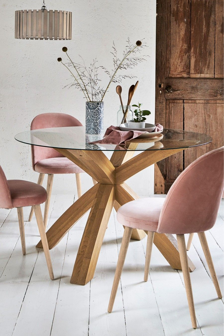 25++ Round glass dining table and chairs uk Tips