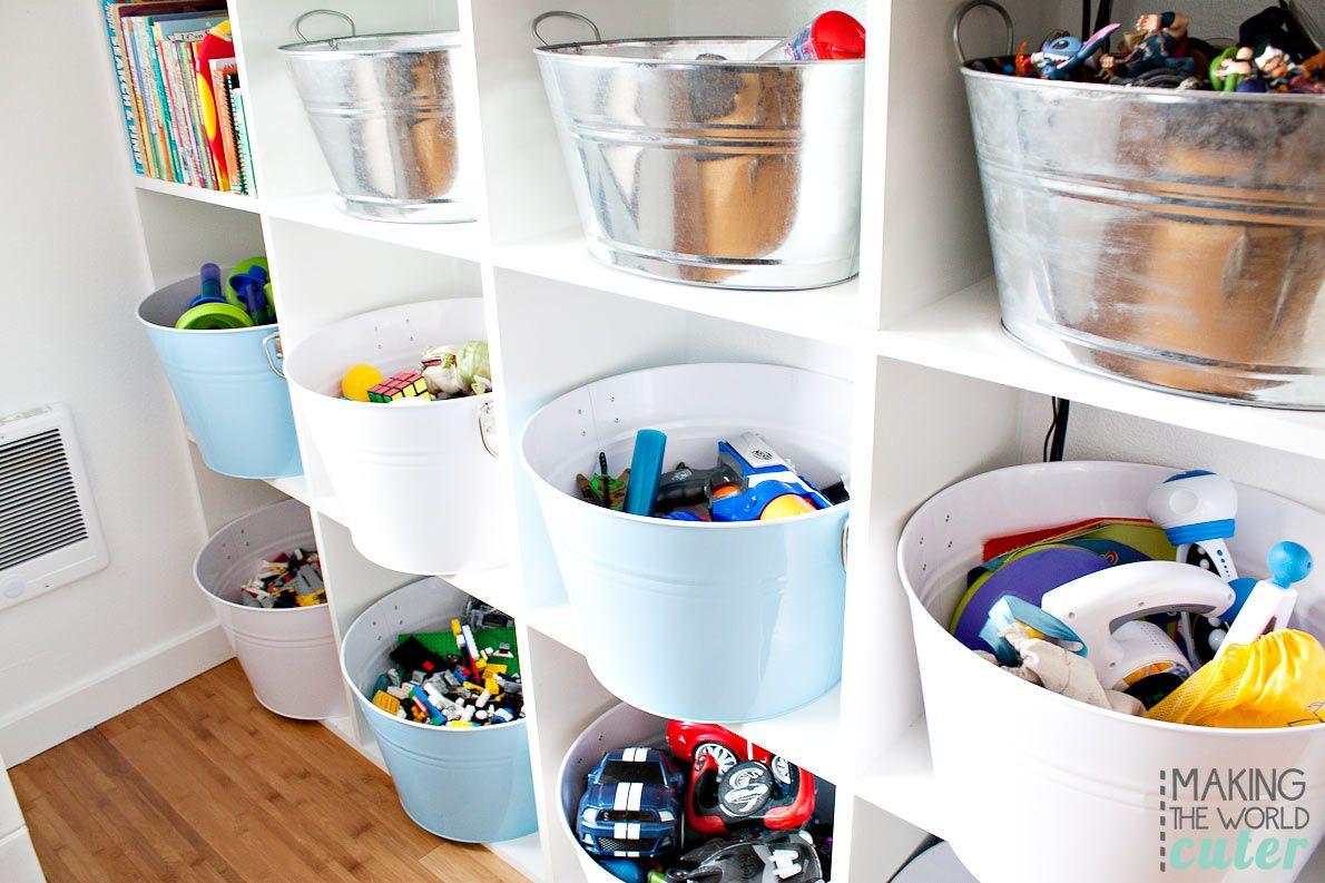 16 Brilliant Kids Playroom Organization Ideas images