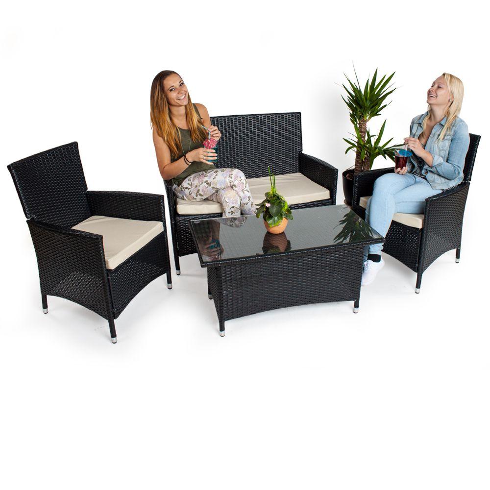 Ensemble fauteuils et canapé en rotin de haute qualité et d ...