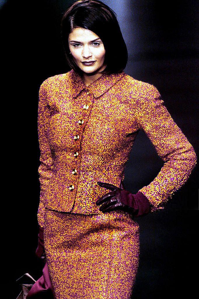 Helena Christensen for Valentino Fall/Winter 1995