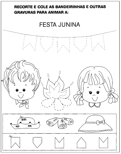 Atividades sobre Festa Junina para Educação Infantil