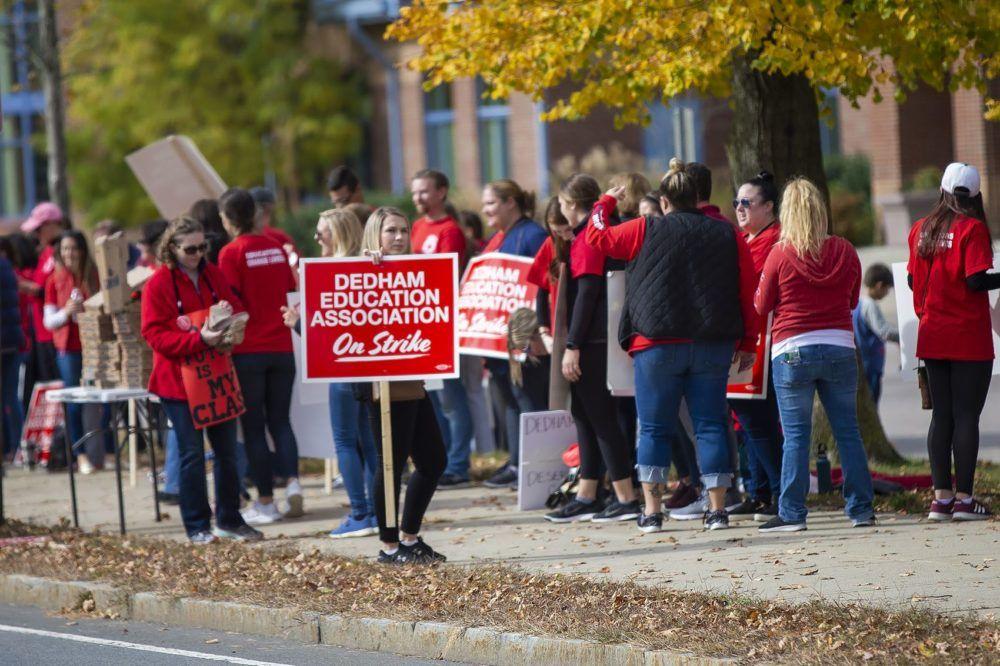 Striking Dedham Teachers Have Reached A Tentative Deal With School Committee Edify School Committee Teachers Strike Teachers