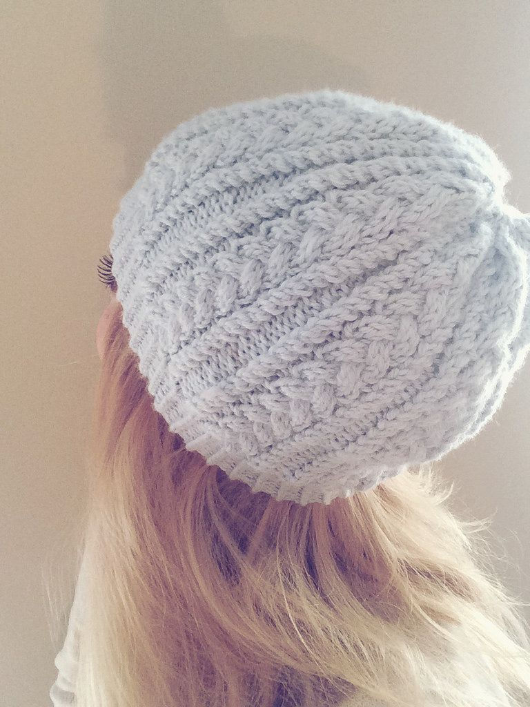 This hat is very easy, the main stitch pattern is only 4 rows (and ...