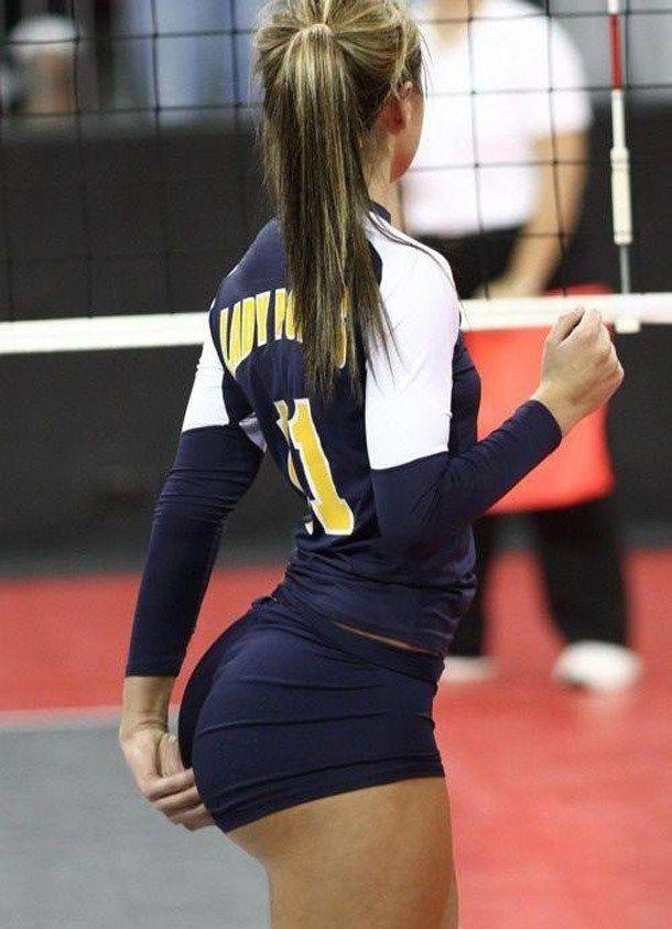 Blonde volleyball slut